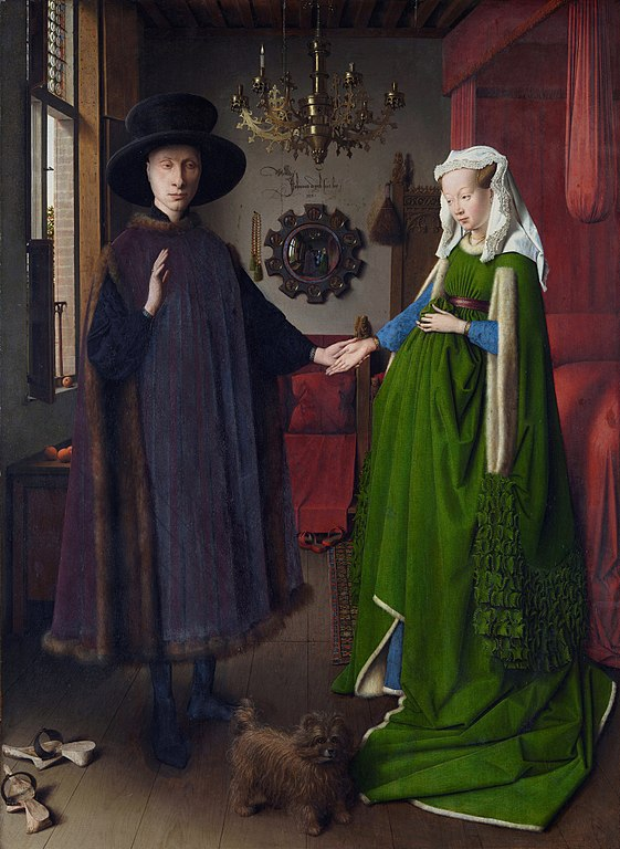 The Arnolfini Portrait - 1434 - Jan van Eyck